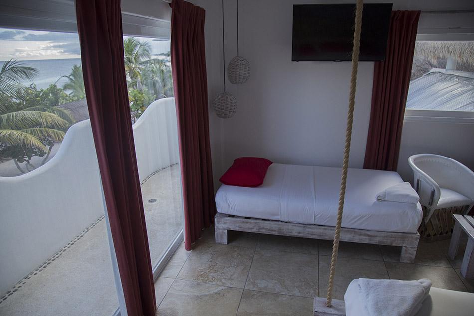 sala balcón panorámico